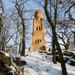 Der Bismarckturm auf dem Großen Schweitzerling (c) Jörn-Uwe Zeug