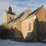Blick auf die Südostseite der Kirche St. Nikolai zu Wettin (c) Jörn-Uwe Zeug