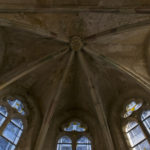 Chorgewölbe der Templerkapelle in Mücheln (c) Jörn-Uwe Zeug