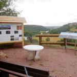 Infopunkt des Naturparks am Saaledurchbruch bei Rothenburg (c) Konrad Schuberth