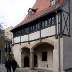 Luthers Geburtshaus von der Hofseite (c) Schütze/Rodemann Halle (Saale)