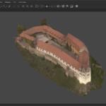 Das Bild 5 zeigt das Ergebnis nach der Texturierung der gesamten Burg. (c) Johannes Grünemeier