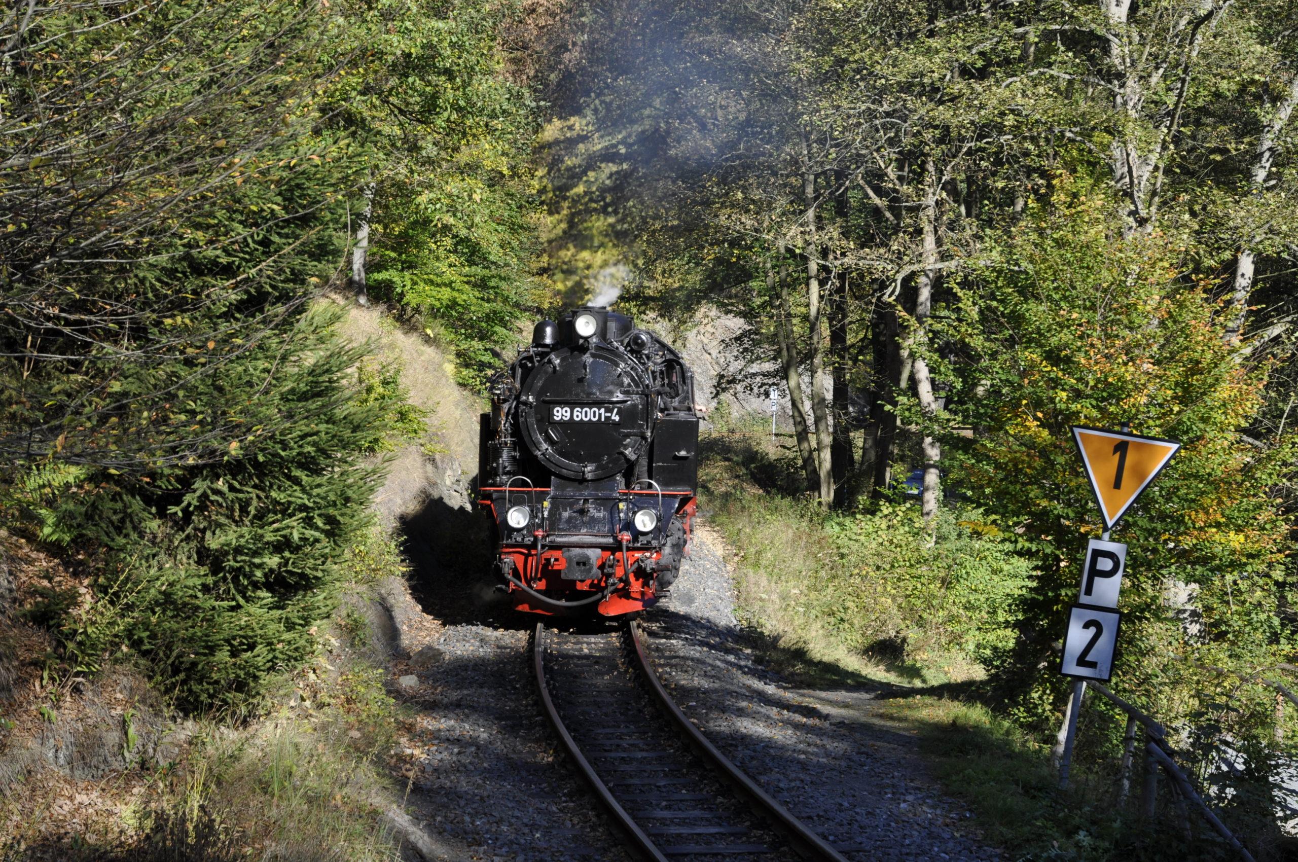 Nahe des Haltepunkts Drahtzug am 16.10.2011 (c) Joachim Volkhardt
